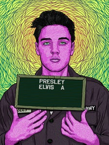 Image of Elvis -- Variant 1