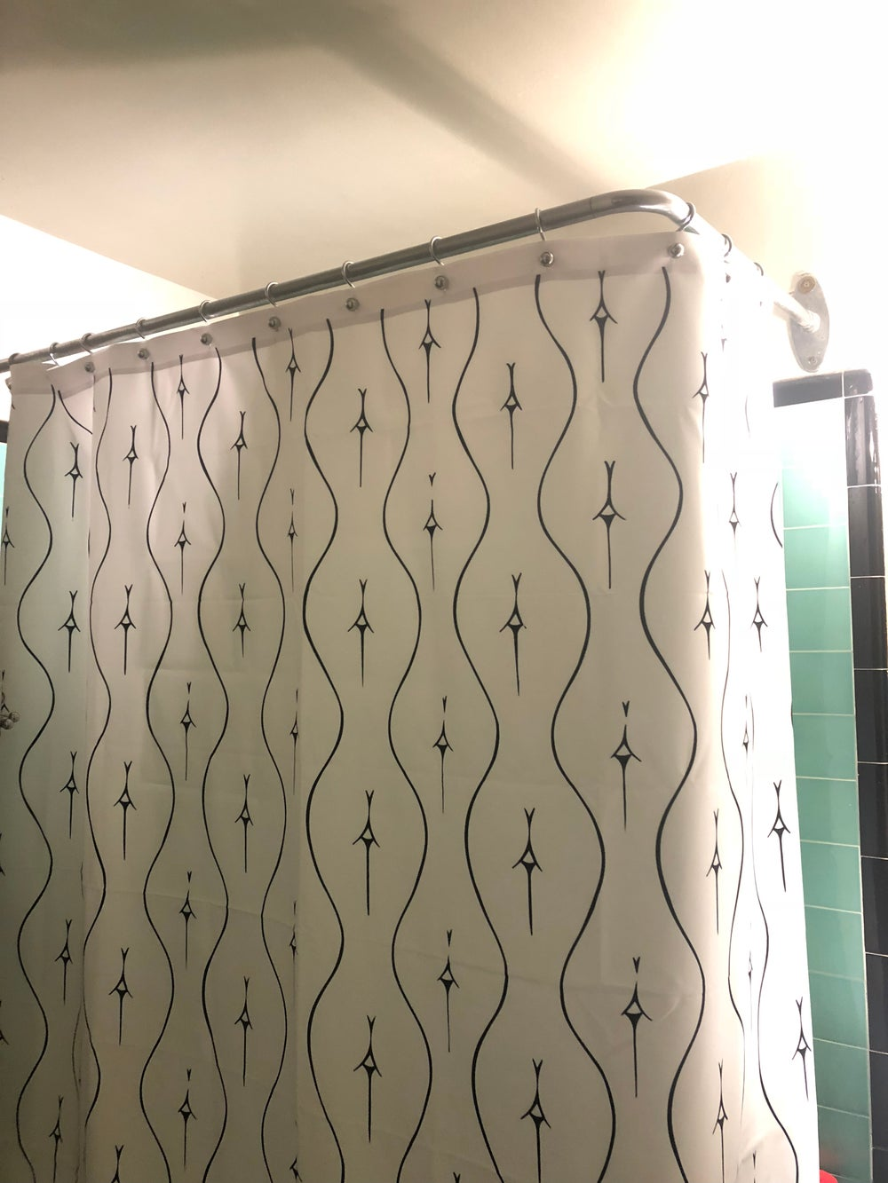 Image of Assellation Shower curtain