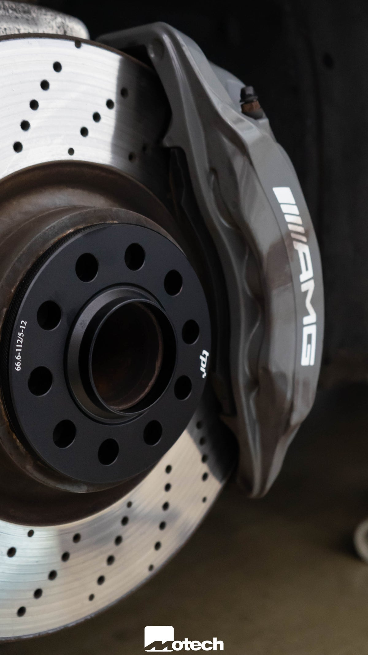 Image of Set of 4 Wheel Spacers to fit MERCEDES BENZ