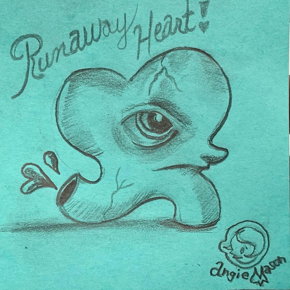 Image of ArtBits Itty bitty stickies sketch - Runaway Heart