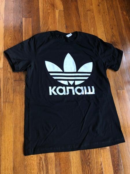 Image of KALASH Cyrillic Trefoil Shirt (PREORDER)