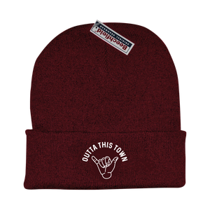 Image of Shaka Beanie Burgundy