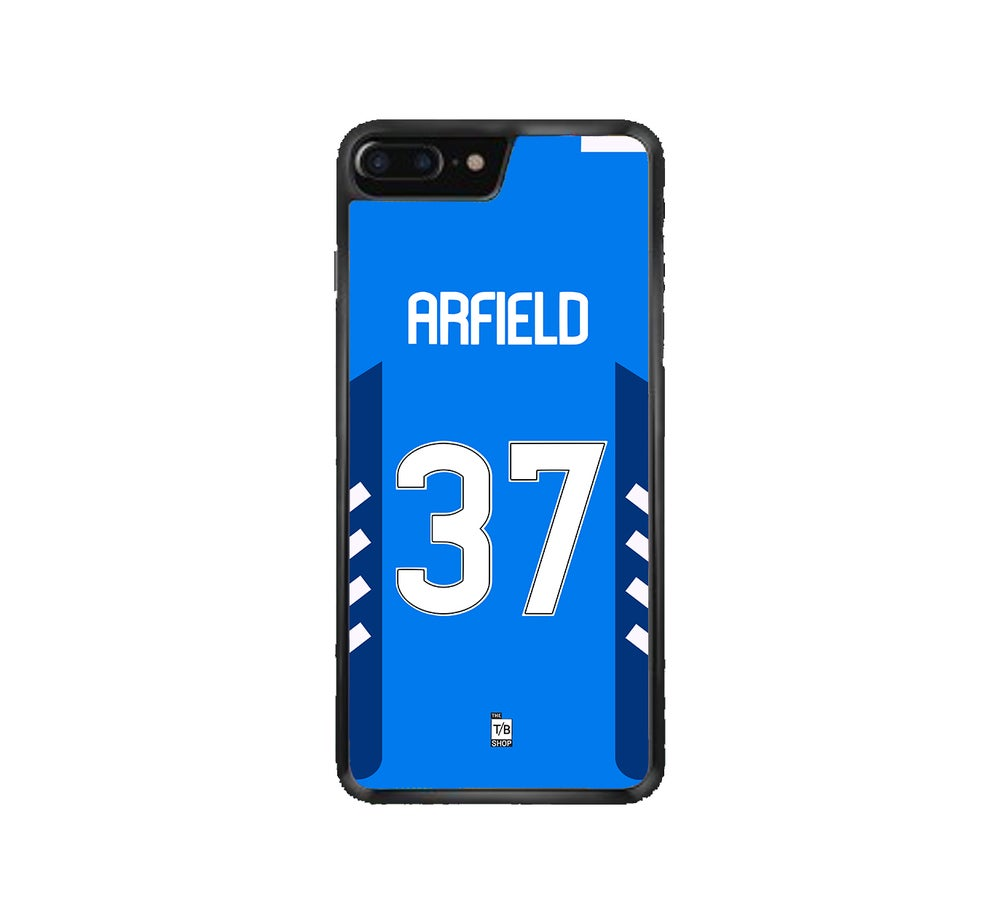 Image of Scott Arfield home shirt phone case