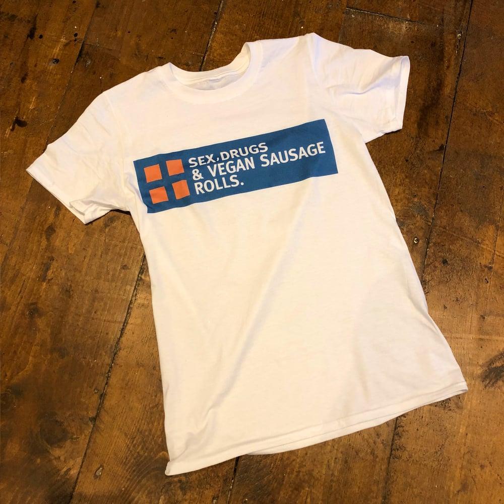 Image of Vegan Sausage T Shirt