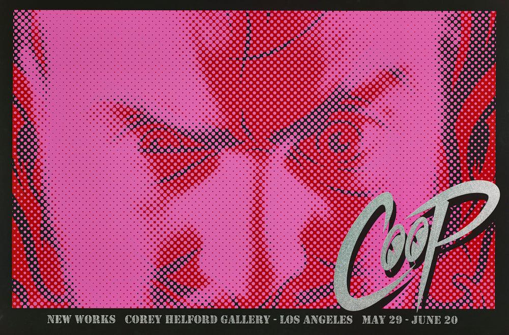Image of NEW WORKS by COOP vintage silkscreen print
