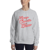Strong Capable Woman Grey Sweater