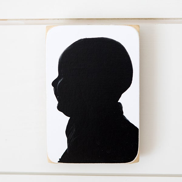 Image of PHOTOBLOCK SILHOUETTES(on sale for $30!)