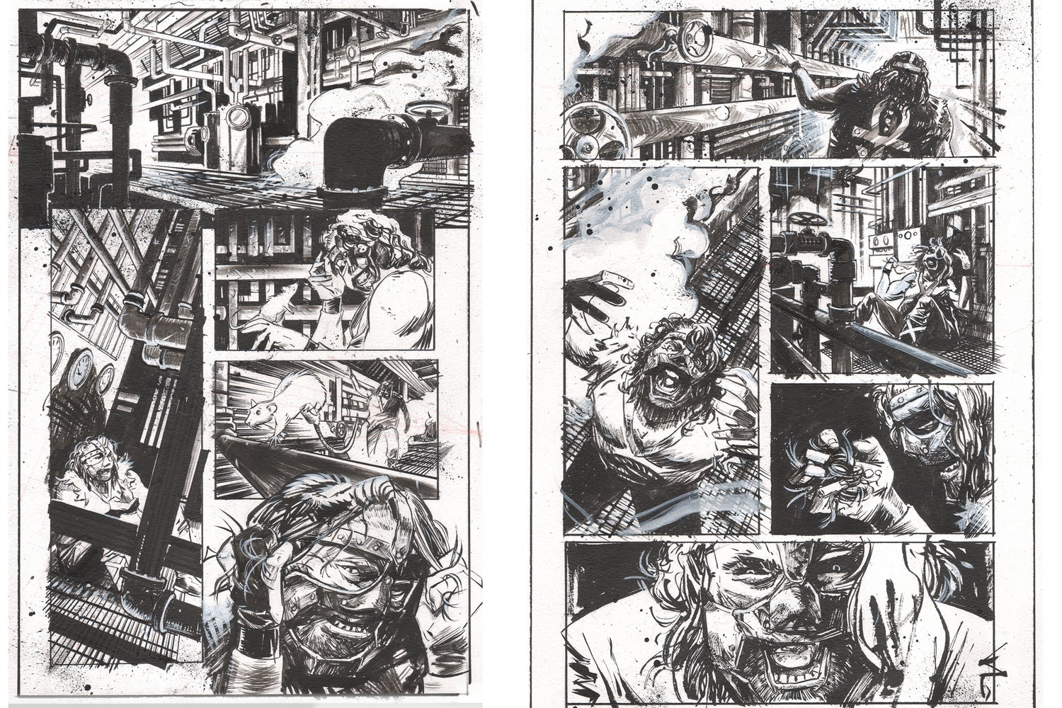 Image of WWE Summerslam Special: Boiler Room Brawl (BOOM) Pages 1 & 2