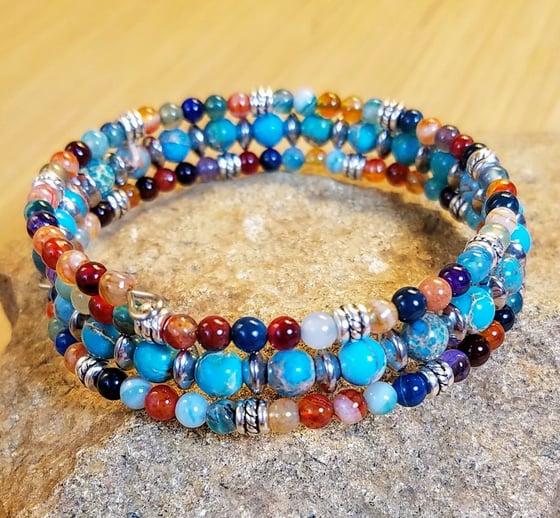 Image of Rainbow Agate Bracelet
