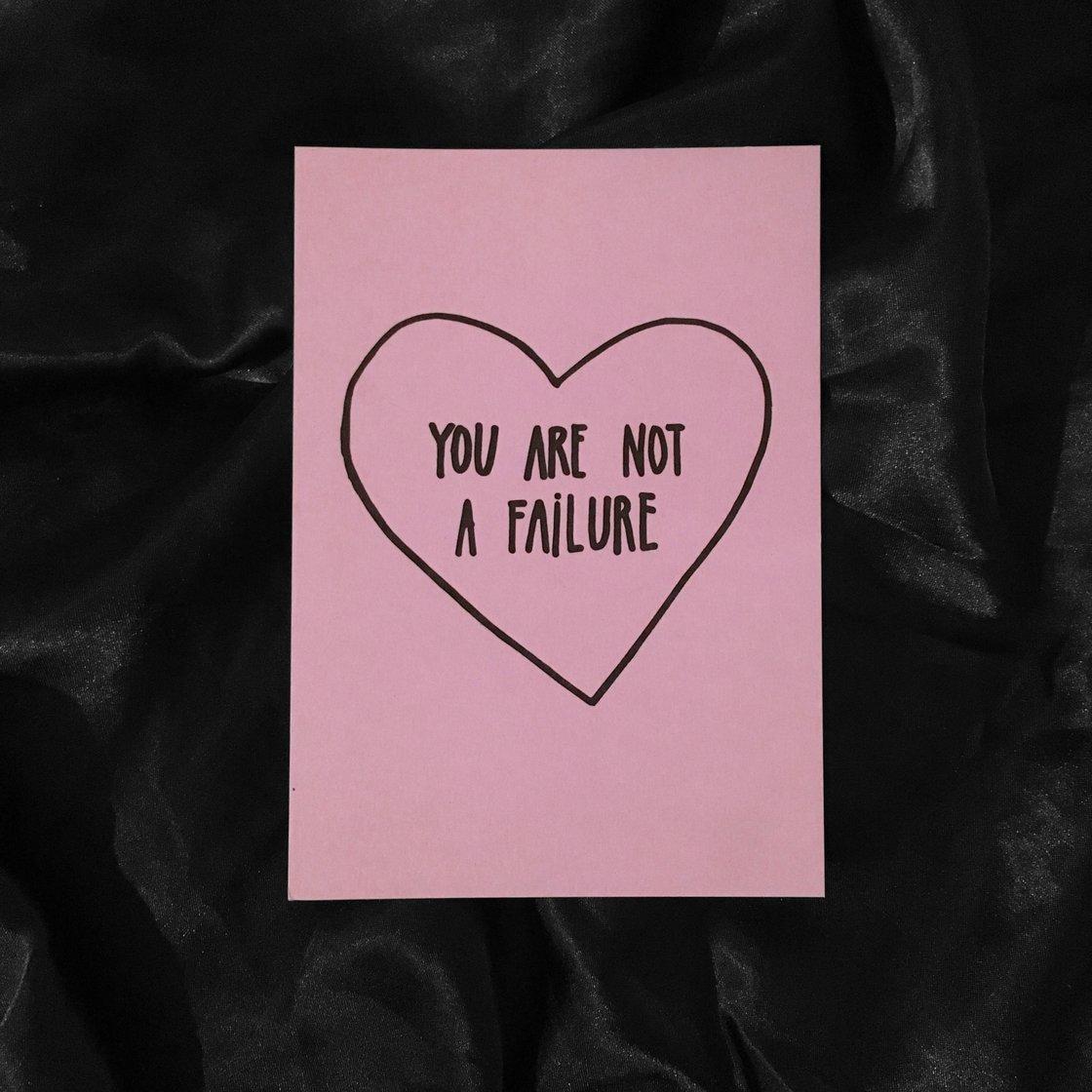 Image of FAILURE card