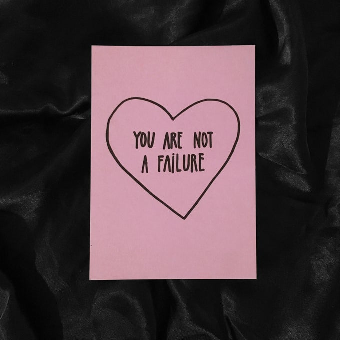 Image of FAILURE card