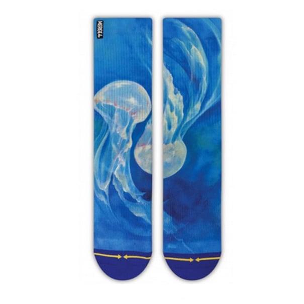 Image of Jellyfish, Merge4 Socks