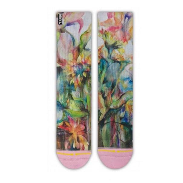 Image of Sunflowers, Merge4 Socks