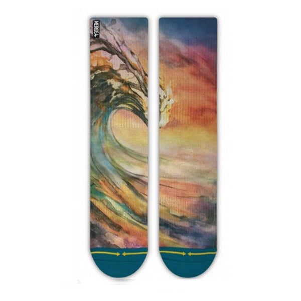 Image of Sunset Peaking, Merge4 Sock