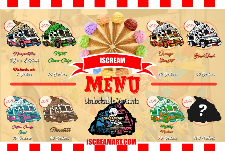 Image of iScreamTruck Pin - BLIND BAGGED (Open Pre-Order)