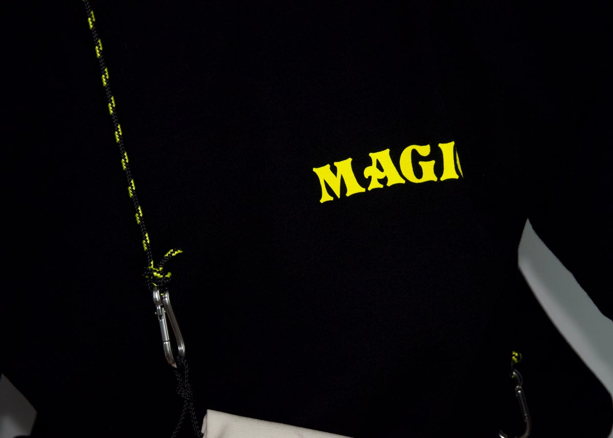 Image of I KNOW ABOUT MAGIC T-SHIRT, BLACK