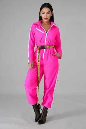 Image of 'Fashion Bomber' Jumpsuit