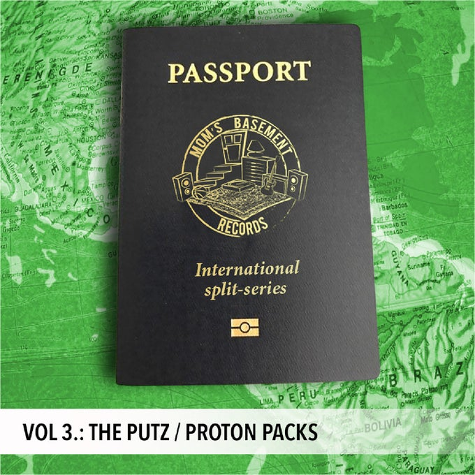 "Image of THE PUTZ / PROTON PACKS - PASSPORT INTERNATIONAL SPLIT SERIES VOL. 3 (7"")"