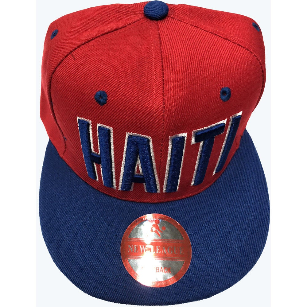 Image of SNAPBACK RED AND BLUE HAITI