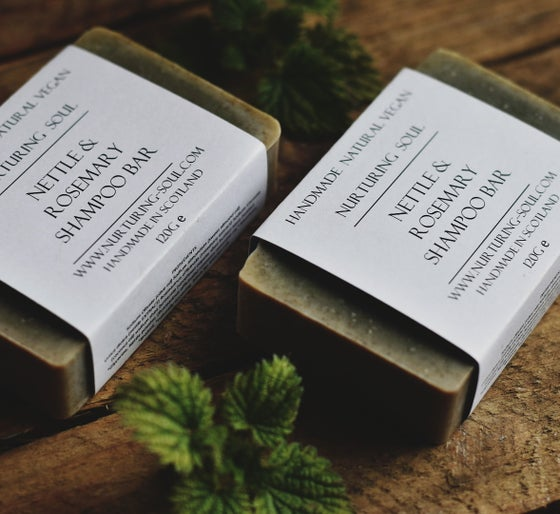 Image of Nettle and Rosemary Shampoo & Body Bar