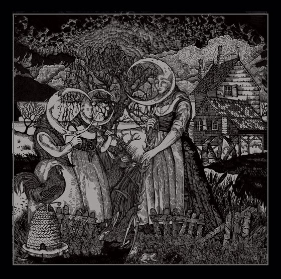 Image of The moon villagers (Black and silver)