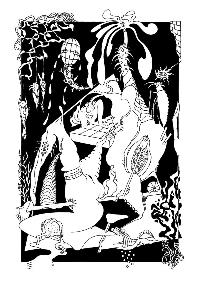 Image of OHNE SINN WIE DIE NATUR A2 Print