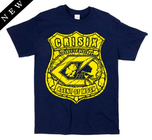 Image of 'Agents Of Mosh' Blue Navy Tee