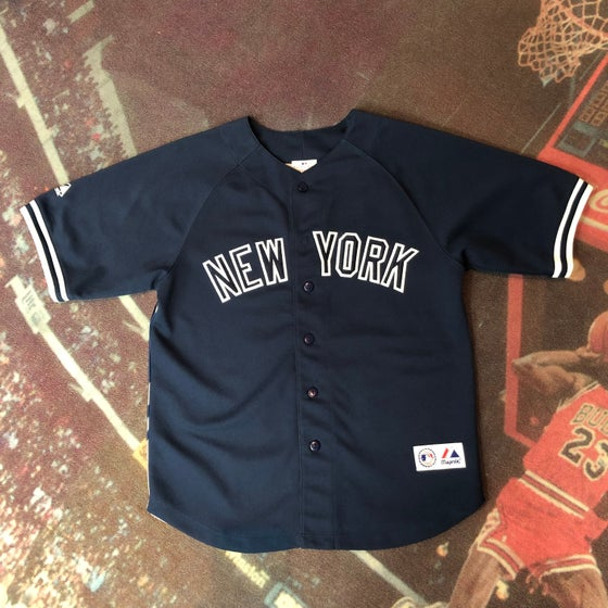 Image of Majestic New York Yankees Derek Jeter Image Jersey
