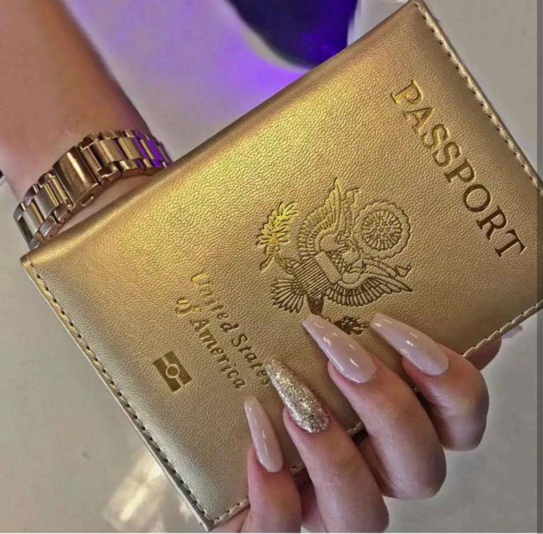 Image of 'Travel Chic' Passport Holder