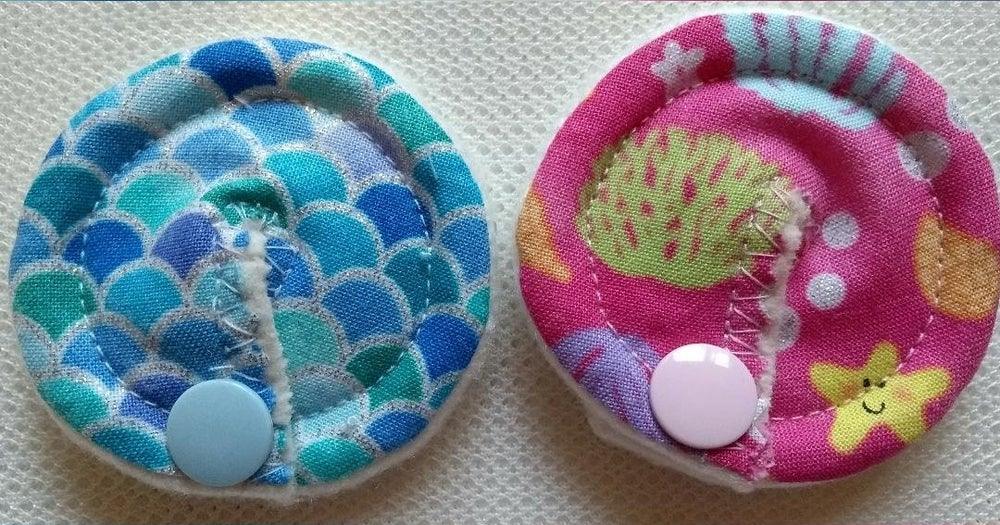 Image of 'Under the Sea Sparkle' Tubie Pads