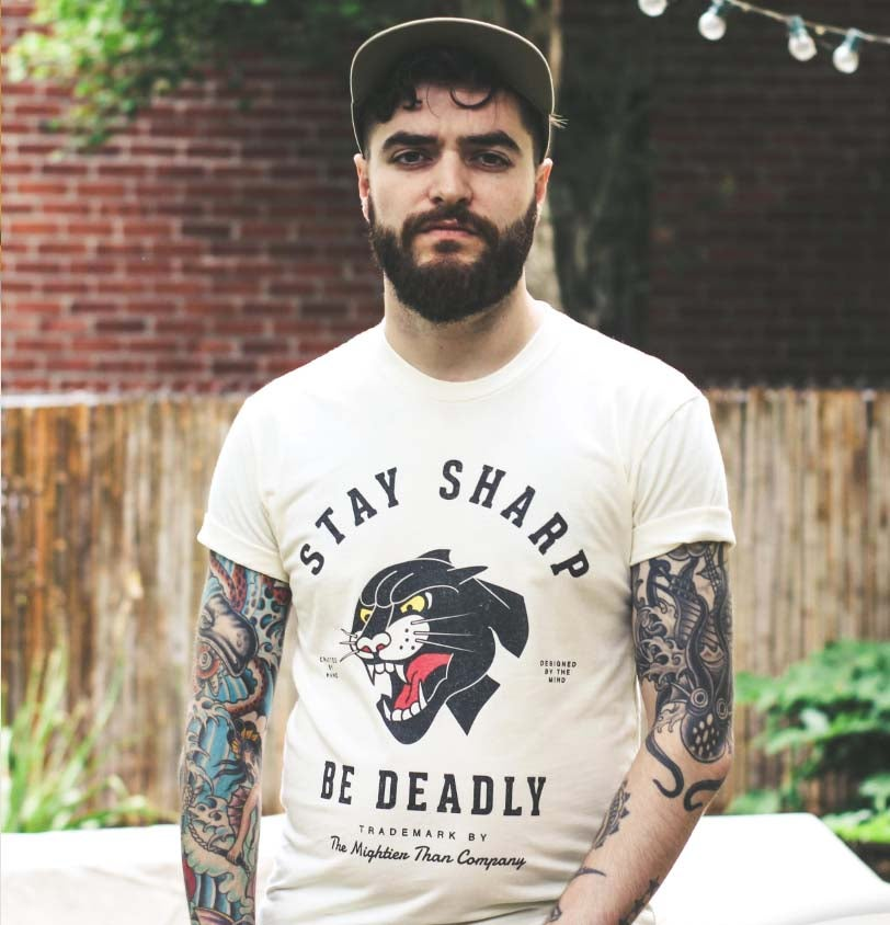 Image of Stay Sharp Panther T-Shirt