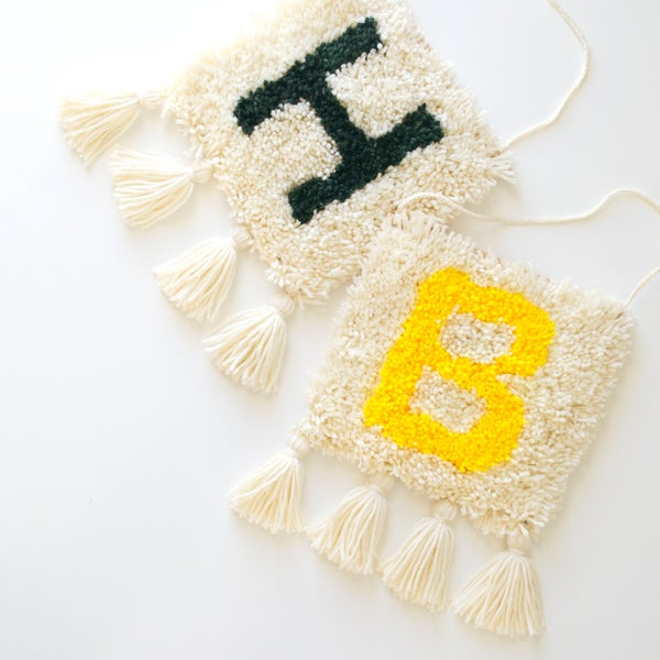 Image of Initial Latchies [wall hangings]