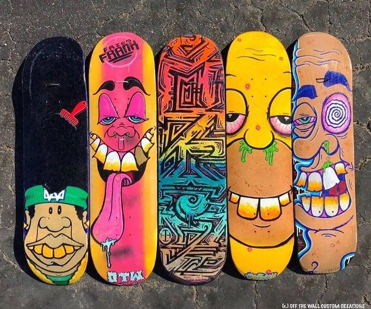 Image of *Custom skateboards