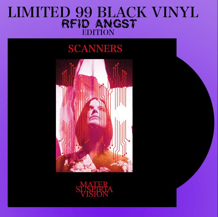 Image of LIMITED 99 BLACK VINYL - MATER SUSPIRIA VISION - SCANNERS LP + DIGITAL