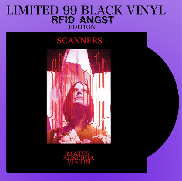 Image of LIMITED 99 BLACK VINYL - MATER SUSPIRIA VISION - SCANNERS LP + DIGITAL