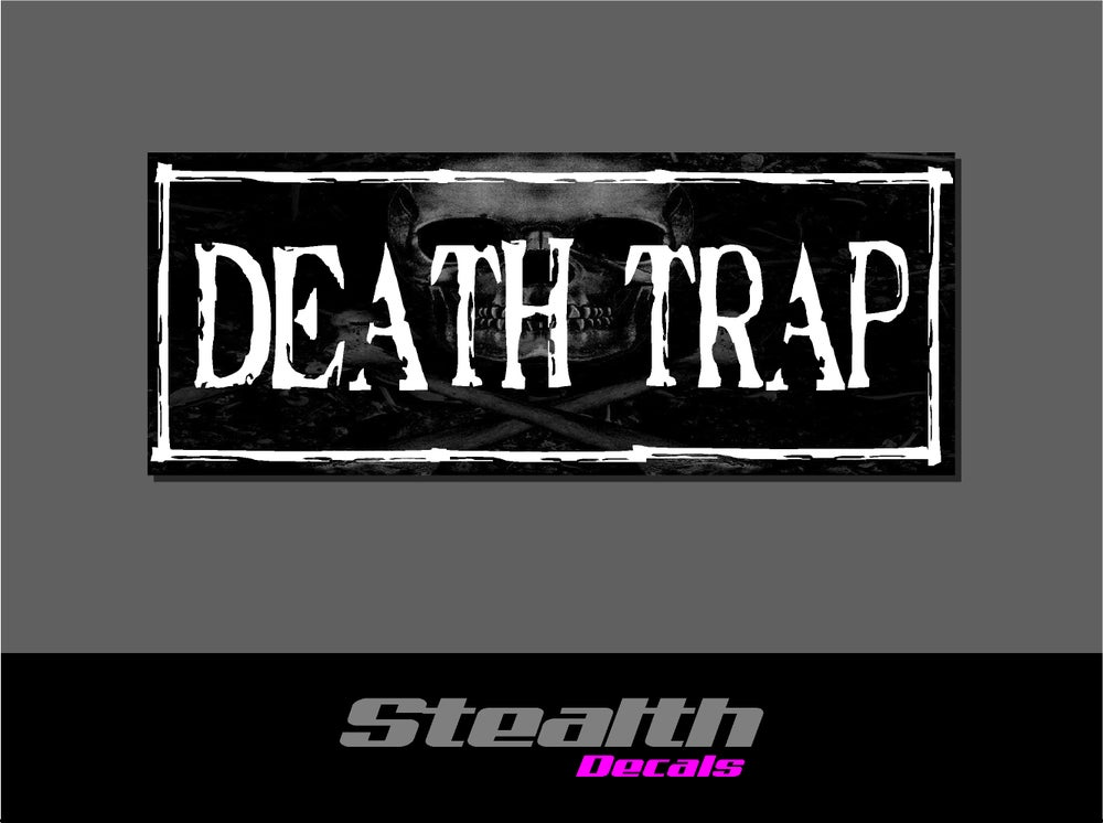 Image of Death Trap Drift Slap sticker