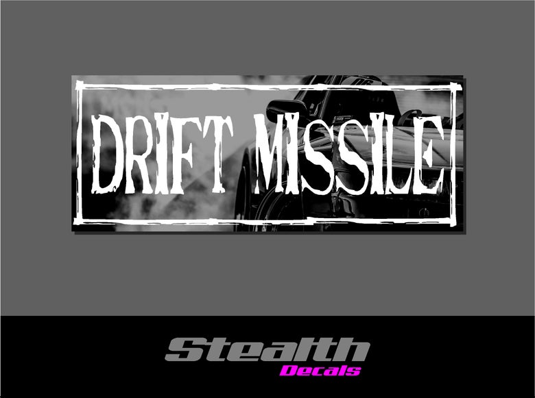 Image of Drift Missile Drift Slap sticker