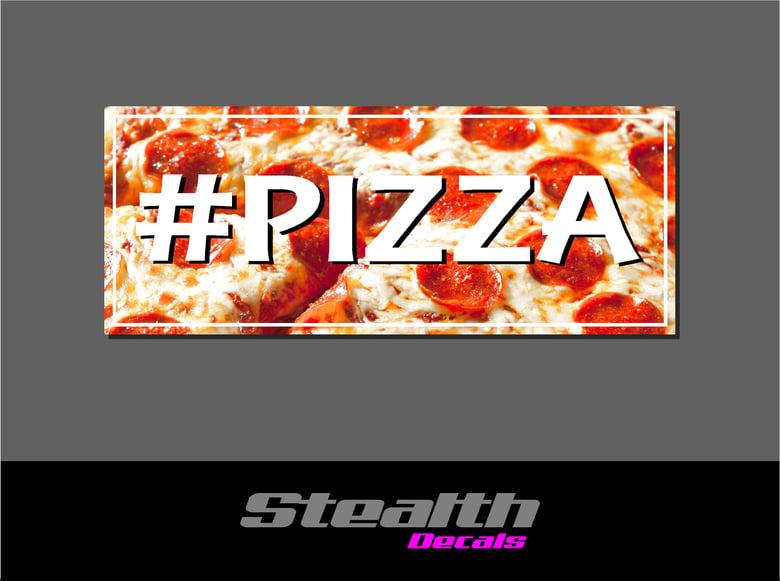 Image of PIZZA Drift Slap sticker
