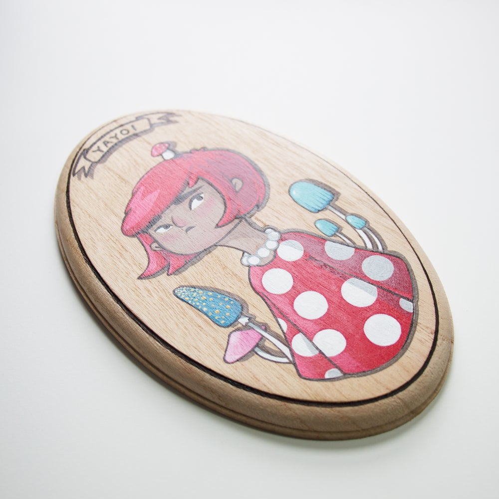Image of YAYOI PLAQUE PAINTING