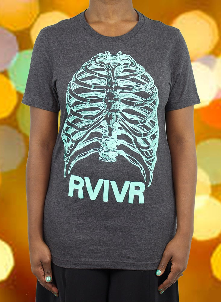 Image of Ribs Tee Teal