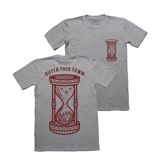 Image of Nature Hourglass T-Shirt Grey
