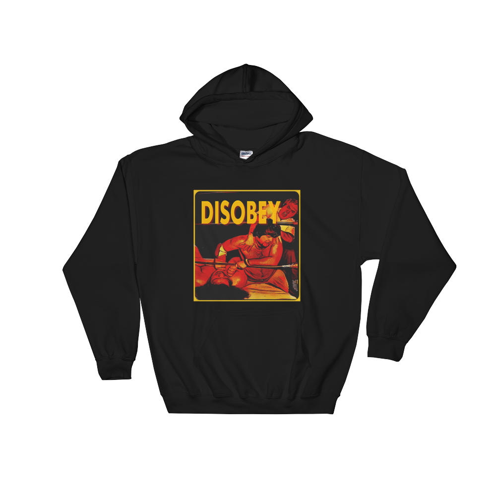 Image of (Dis)OBEY Andre the Giant Heavyweight Hoodie (Medium thru Giant (XXXXL sizes)