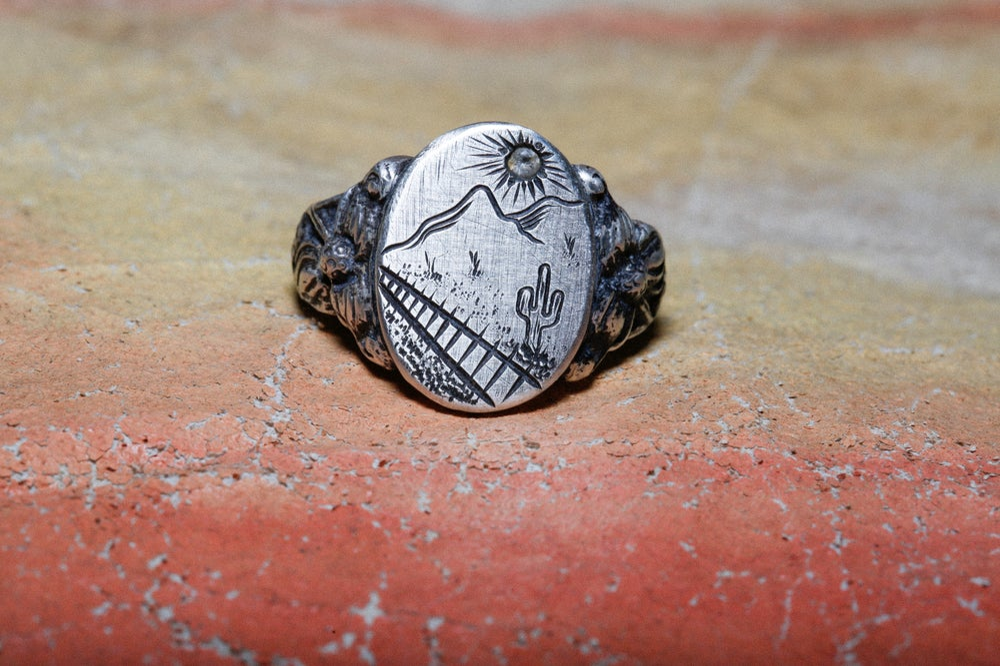 Image of Hand Engraved Desert Signet