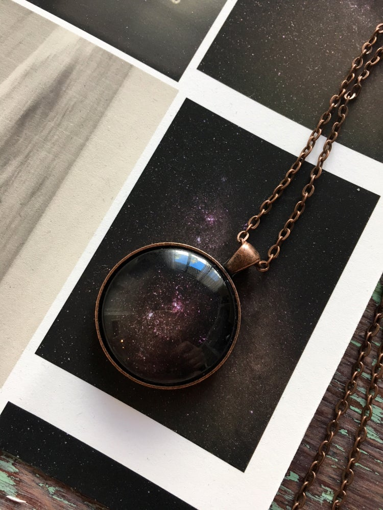 Image of Pendant Necklace Stars inspired by the sky