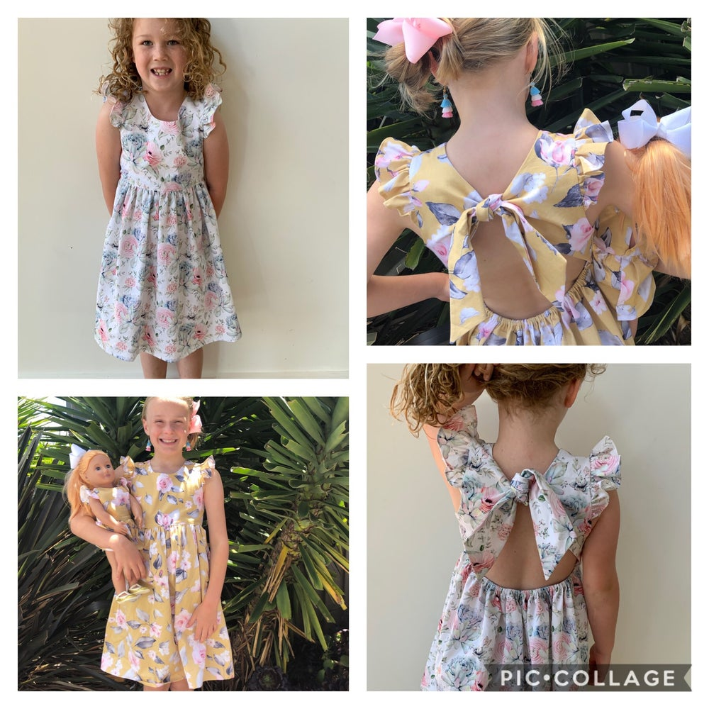 Image of The IVY Dress Summer Garden Collection