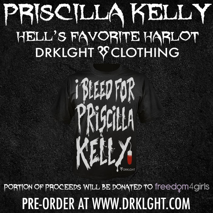 Image of Bleed For Priscilla Kelly