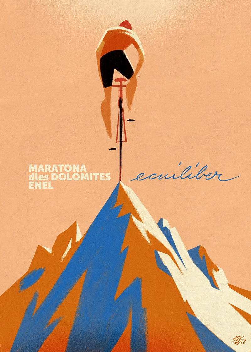 """Dolomites Ecuiliber #1"""