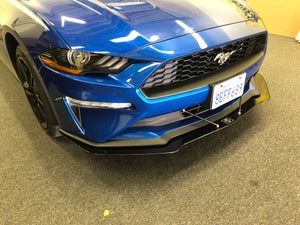 Image of 2018 Ford Mustang Front splitter