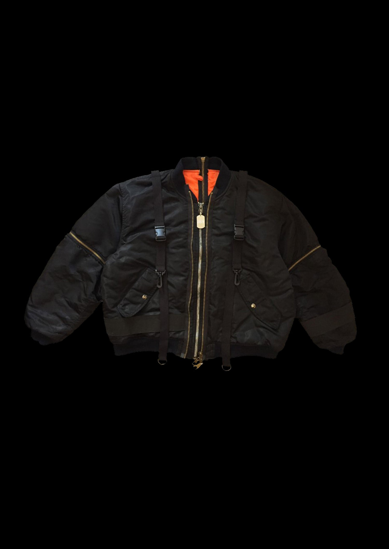 Image of ZIPPERSLEEVES BOMBER