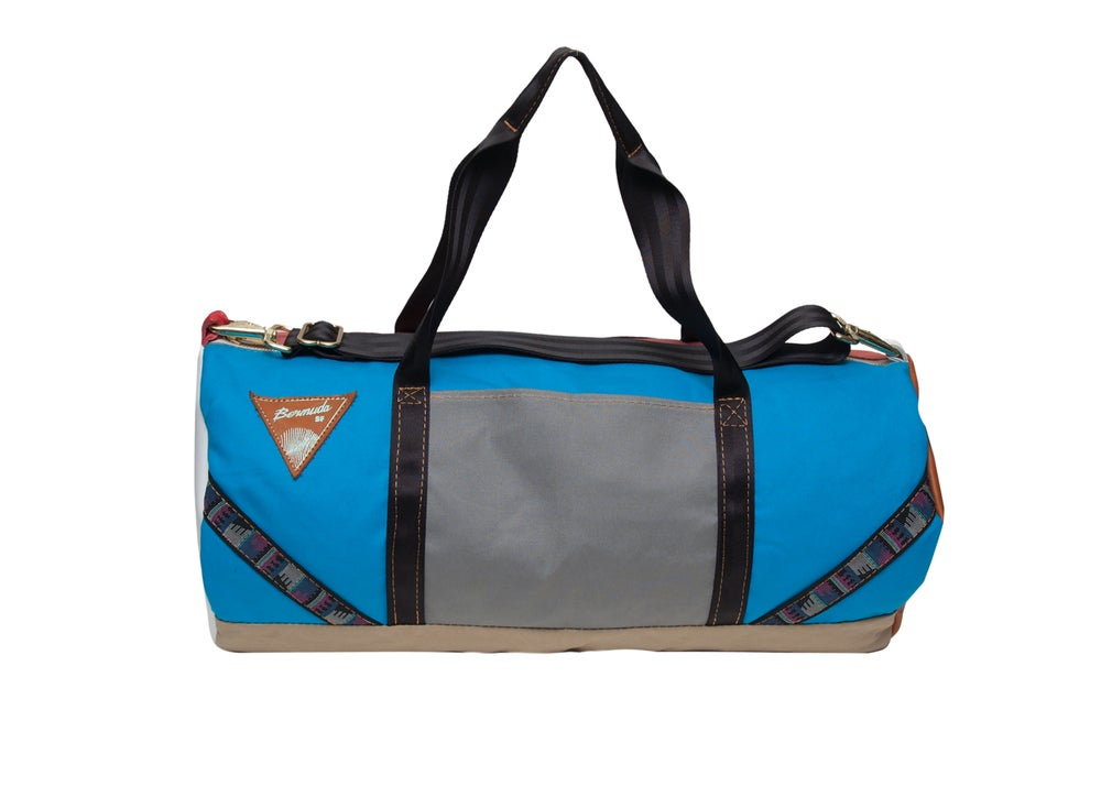 Image of Multi colored duffel